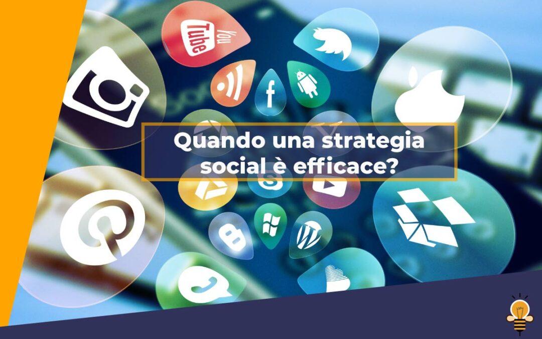 Come capire se la tua strategia social funziona