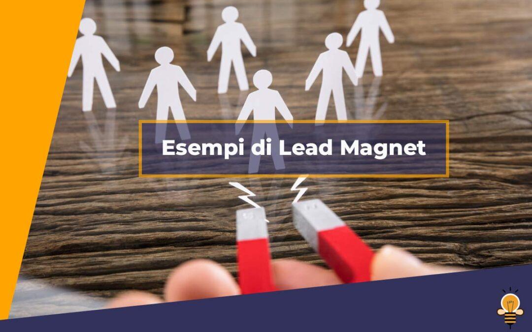 Esempi di lead magnet