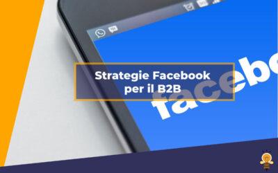 Strategie Facebook per il B2B